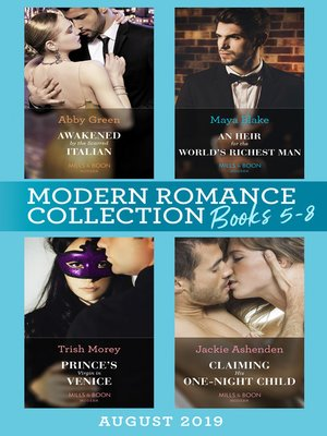 cover image of Modern Romance August 2019 Books 5-8